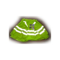 Fluorecent Safety jacket Weather proof + Fluo pants + Fluo vest bodywarmer
