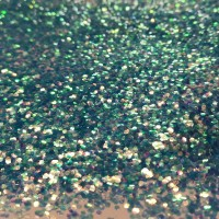 Glitter - 1,0mm - Iridescent Turquoise Green