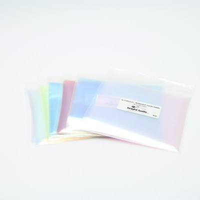Glitter Film 130x130mm  Set of 6 colors
