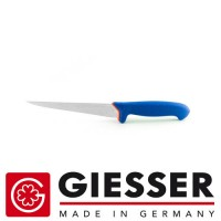 Giesser Filleting knife PRO softgrip 18cm flexible blue