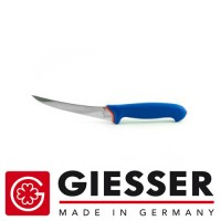 Giesser Filleting knife PRO softgrip 15cm bended flexible blue