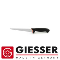 Giesser Filleting knife PRO softgrip 18cm hard black