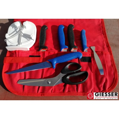 Giesser Filleting PRO softgrip 5 knives LUXE SET
