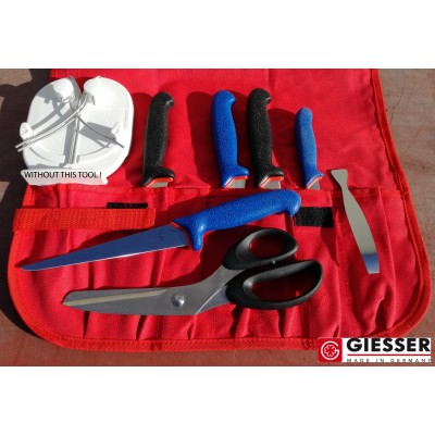 Giesser Filleting PRO softgrip 5 knives SET