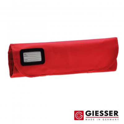 Giesser Knife roll empty 7comp. red