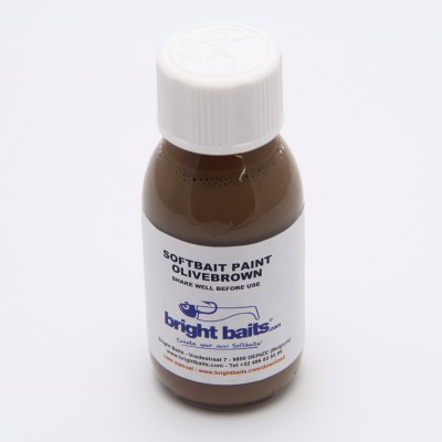 Softbait Paint - Standard - Olivebrown - 60ml + pippet