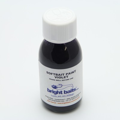 Softbait Paint - Standard - Violet - 60ml + pippet